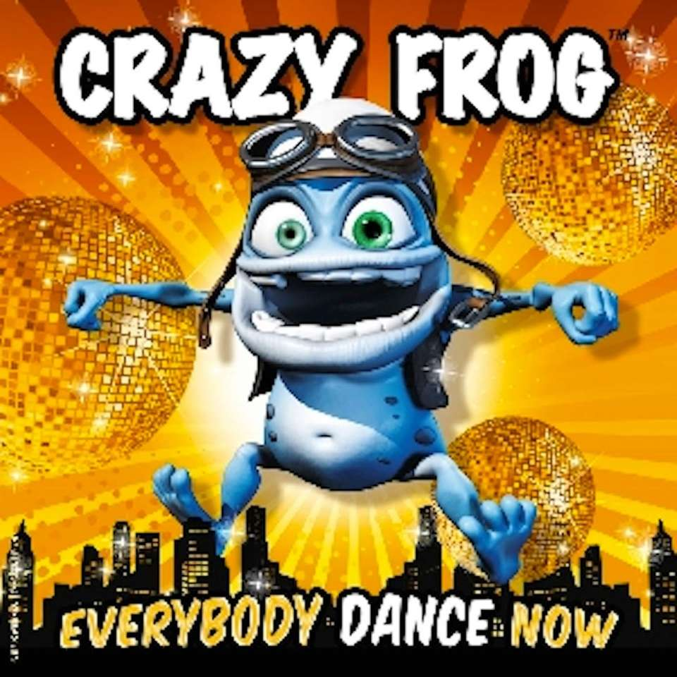 OK, somehow the Euro-dance phenomenon Crazy Frog survived