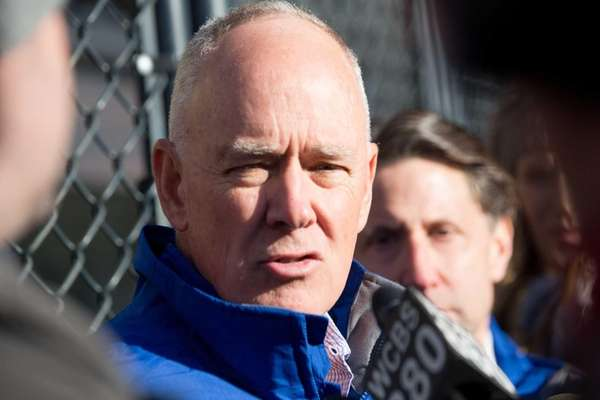 New York Mets general manager Sandy Alderson and