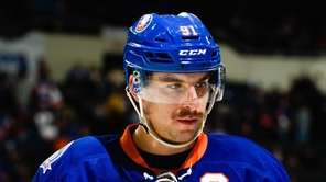 John Tavares of the New York Islanders looks