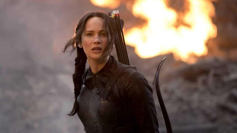 Jennifer Lawrence returns to star as Katniss Everdeen
