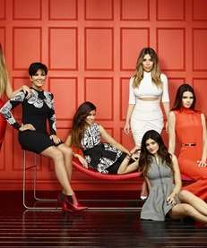 "In ""Keeping up with the Kardashians,"" the family"