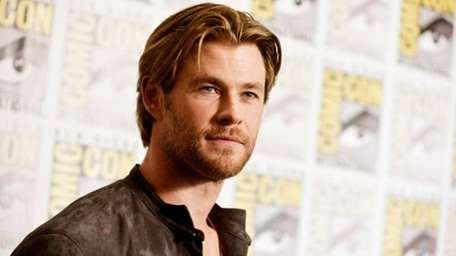 """People magazine has named Chris Hemsworth the """"Sexiest"""