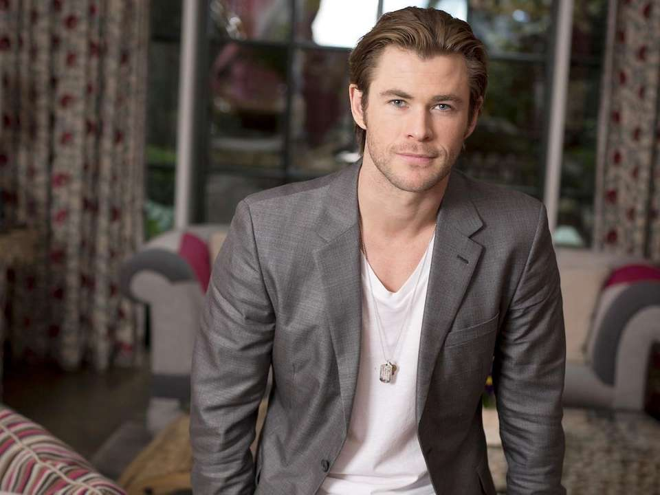 People magazine has named Chris Hemsworth 2014s