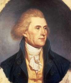 Thomas Jefferson painting by Charles Wilson Peale in