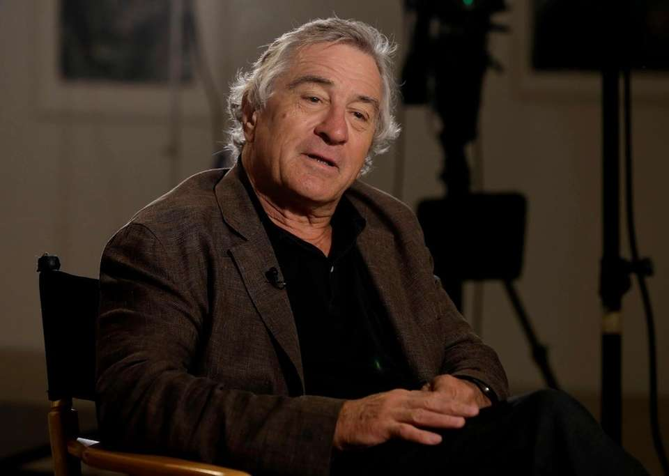 Actor Robert De Niro, is interviewed on June