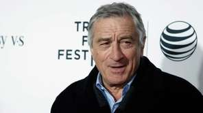 Tribeca Film Festival co-founder and actor Robert De