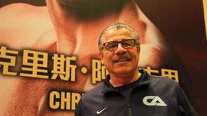 "Jacob ""Stitch"" Duran poses inside the Venetian Macao"