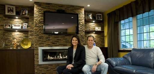 Lisa and Bryan DeMarchis own a home in
