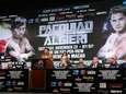 Manny Pacquiao speaks to the media about the