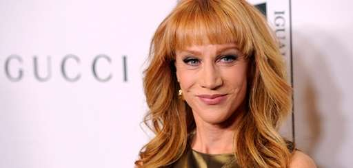 """Kathy Griffin poses at the """"Make Equality Reality"""""""