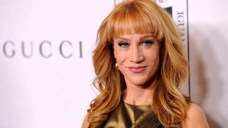 Kathy Griffin poses at the