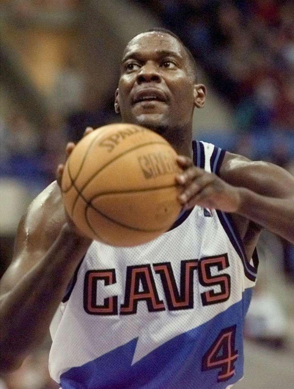 SHAWN KEMP, East Cleveland Cavaliers In his first