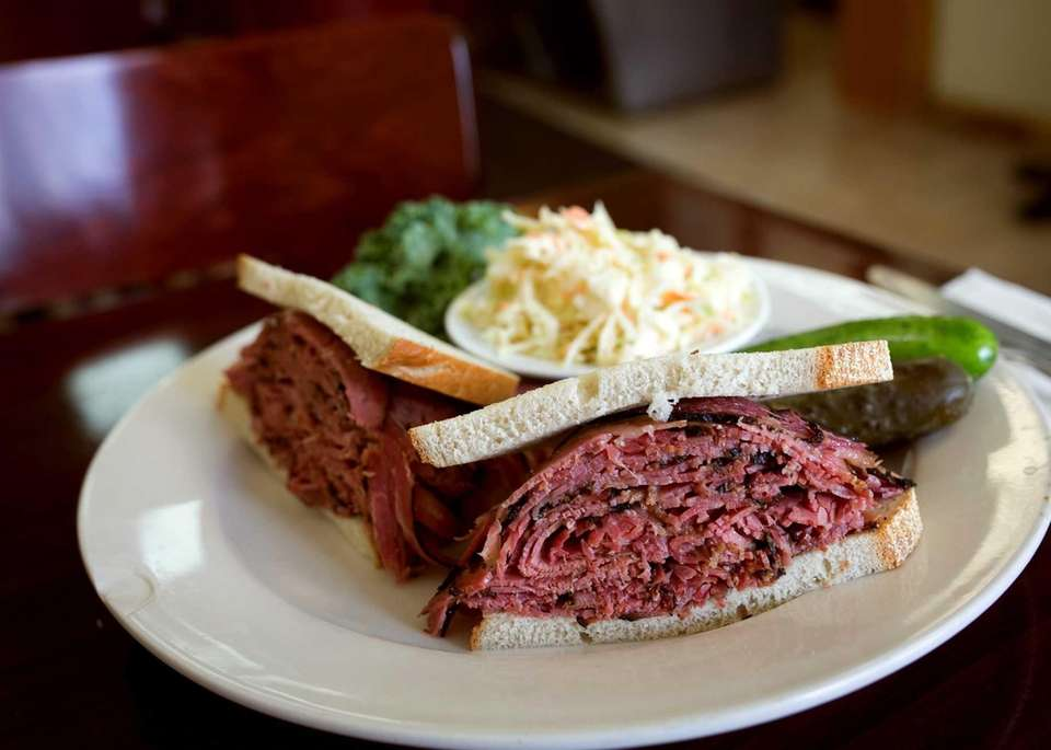 Pastrami on Rye at Pastrami Plus (2568 Hempstead