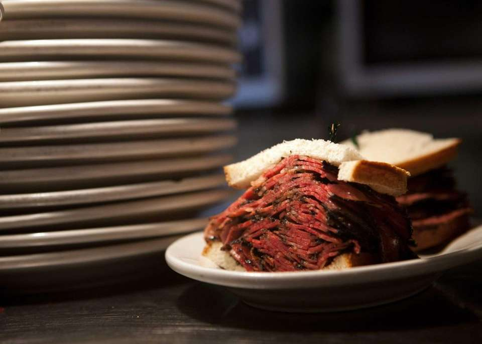 Classic Pastrami Sandwich at Lido Kosher Deli, Long