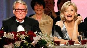 Director Mike Nichols and his wife, Diane Sawyer,
