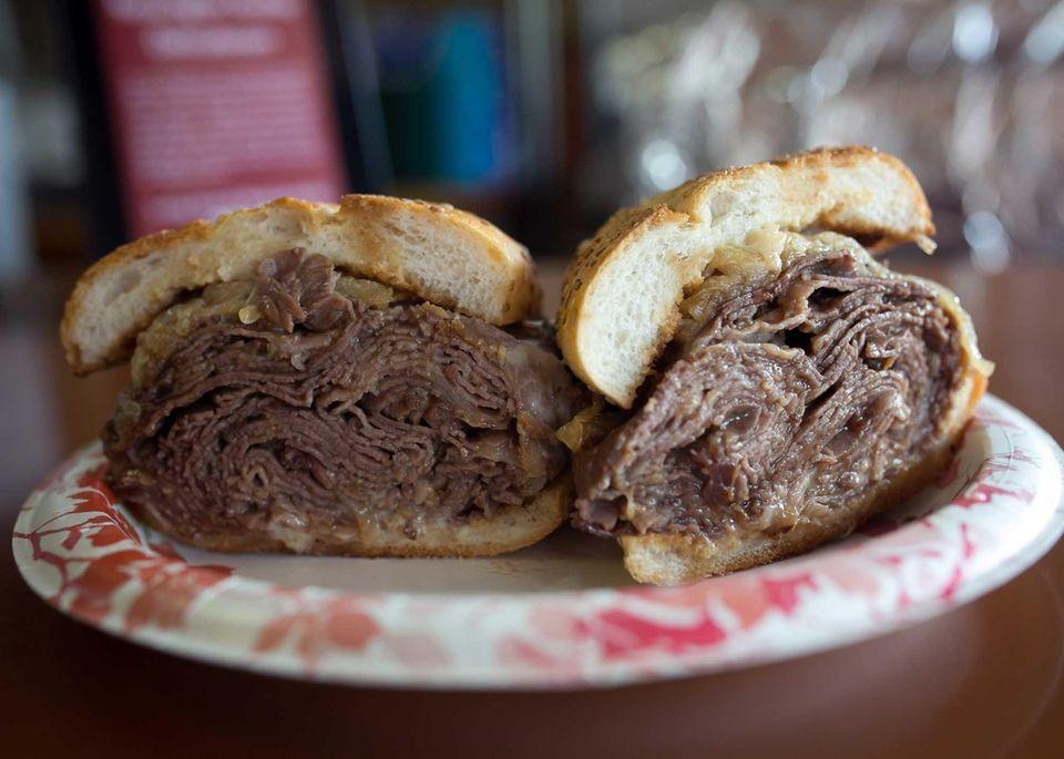 Paulie Special at Kensington Kosher Delicatessen, Great Neck: