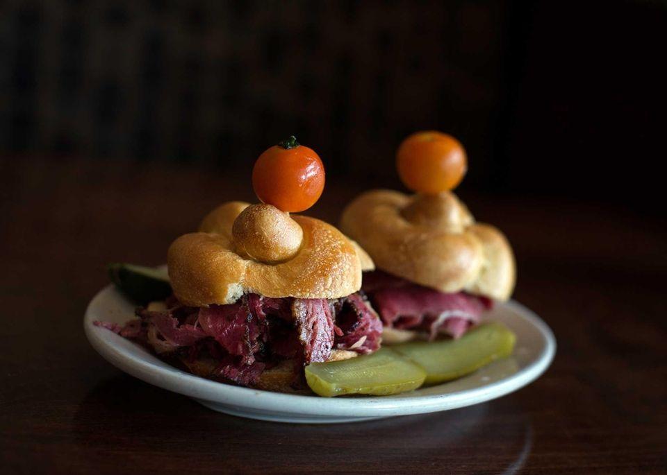 Deli Double, Ben's Kosher Delicatessen, Carle Place: In