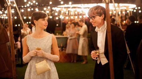Felicity Jones stars as Jane Wilde and Eddie
