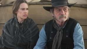 Hilary Swank and Tommy Lee Jones in a