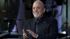 Billy Joel, the recipient of the Library of