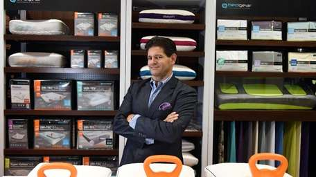 Eugene Alletto, CEO of Bedgear LLC, in his