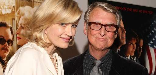 TV personality Diane Sawyer and husband director Mike