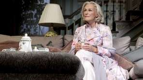 Glenn Close in a scene from Edward Albee's