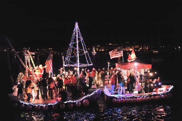 A file photo of the 2010 Huntington Harbor