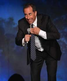Jerry Seinfeld preforms during SeriousFun Children's Network event