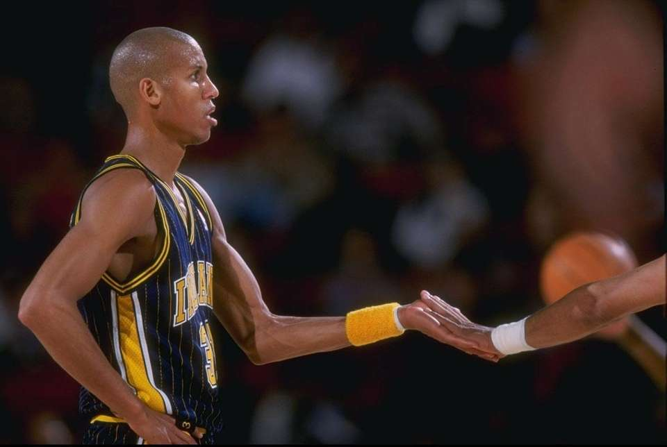 REGGIE MILLER, East Indiana Pacers In his 18-year