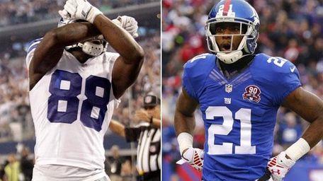 Dallas Cowboys wide receiver and Giants cornerback Dominique