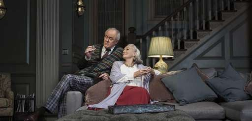 "John Lithgow and Glenn Close in ""A Delicate"