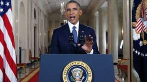 President Barack Obama announces executive actions on US