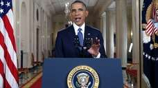 President Barack Obama announces executive actions on U.S.