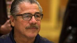 "Cutman Jacob ""Stitch"" Duran talks with the media"