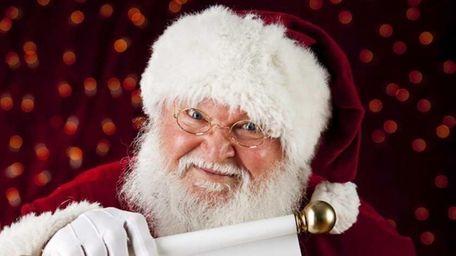 Santa landed his sleigh on Long Island and