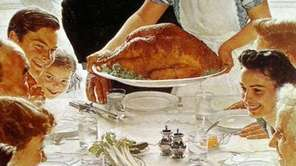 A Rockwellian Thanksgiving.