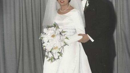 Frances and Melchiore Algeri on their wedding day,