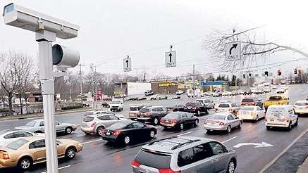 Red-light camera in Rocky Point