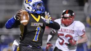 Lawrence running back Jordan Fredericks plays the role