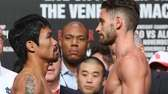 Manny Pacquiao and Chris Algieri face off during