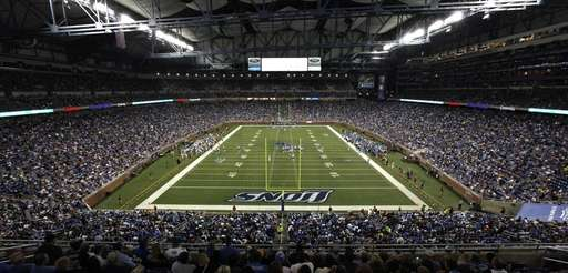 The Detroit Lions take on the New England