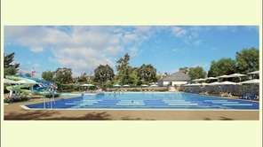 A rendering of the Roslyn Country Club Pool