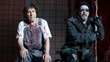 Stephen Rea & Lloyd Hutchinson in Sam Shepard's