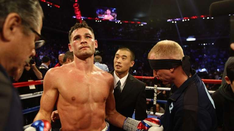 Long Island's Chris Algieri went the distance with