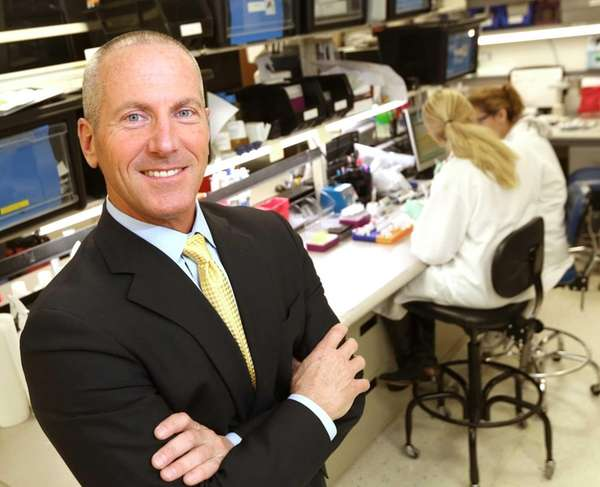 Chembio Diagnostics chief executive John J. Sperzel at