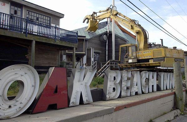 ... You remember the Oak Beach Inn, a