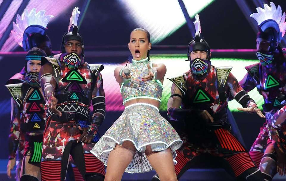 Katy Perry performs at Allphones Arena in Sydney,