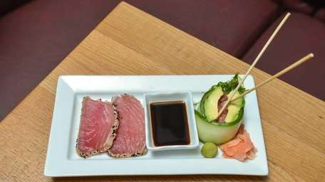 Tuna two ways is a well-fashioned duo of