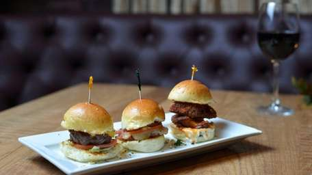 The slider board includes a trio: a Wagyu